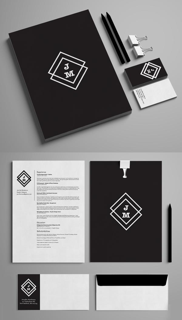 Inspirasi Desain Branding Identity - Jane Morris Visual Identity
