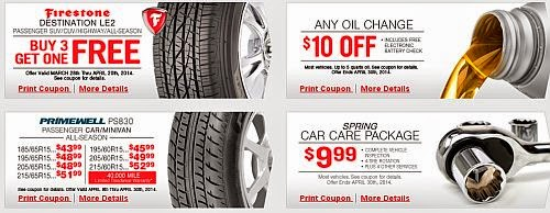Save With Firestone Synthetic Oil Change Coupons From