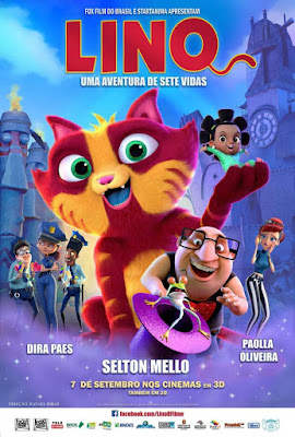 Lino O Filme 2017 DVD R4 NTSC Latino