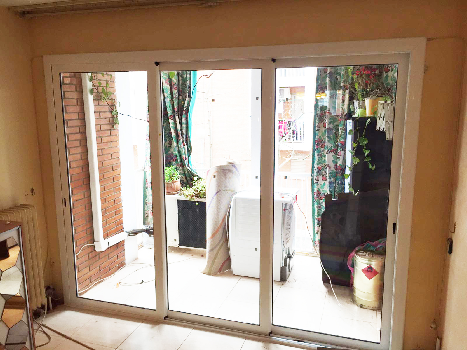 Persiauto instalaci n carpinter a de aluminio - Puerta balconera aluminio ...