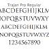 格式高き古代文字「Trajan(トラジャン)」