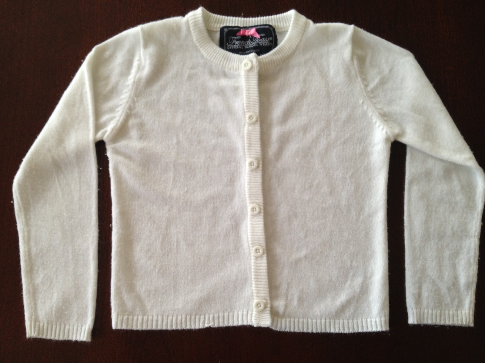 Fine Gauge Knit Cardigan Sweater from French Toast