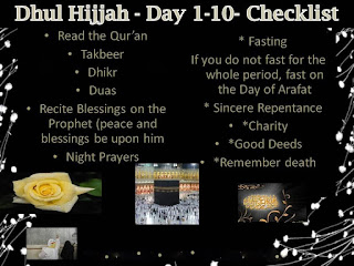 dhul hujjah 10 days benefits