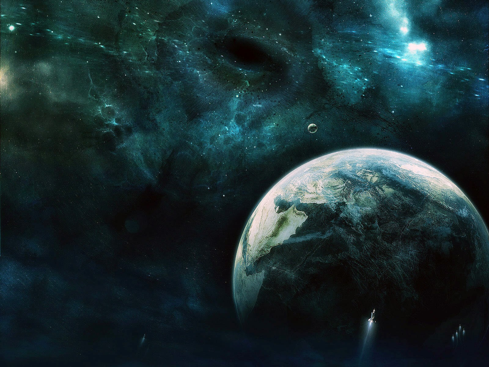 Top 20 hd earth outer space science fiction wallpapers for for Outer outer space