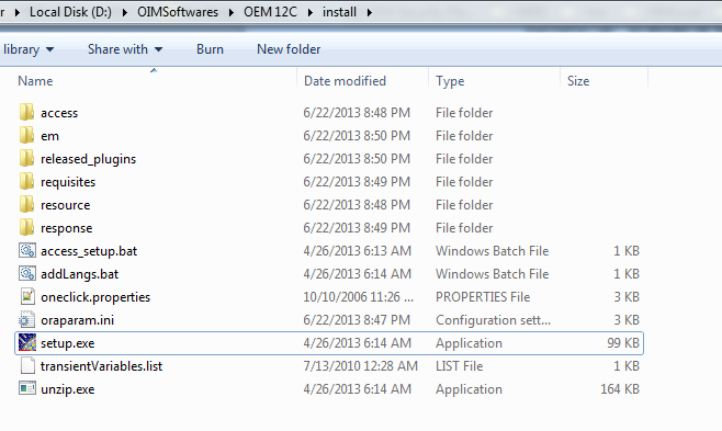 IAM IDM: Oracle Enterprise Manager Installation and