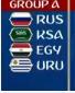 المجموعة الأولى من مونديال روسيا 2018