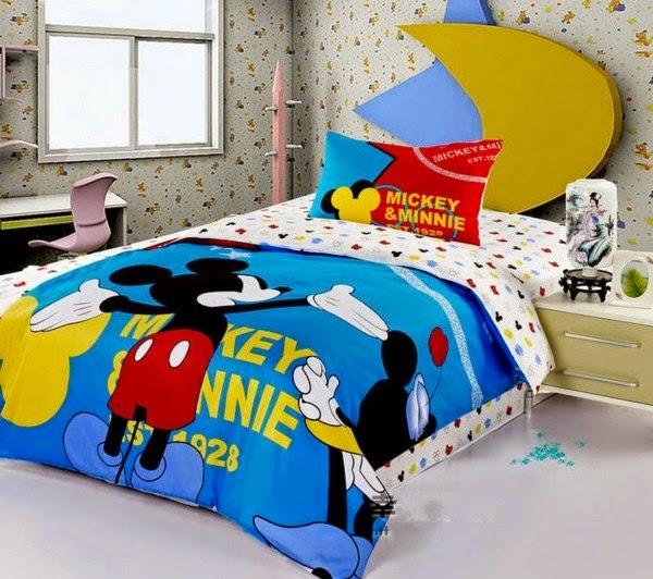 Dormitorio tema mickey mouse dormitorios colores y estilos - Habitaciones infantiles disney ...
