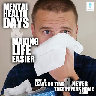 Today, we're back with our series How to Leave on Time and NEVER Take Papers Home Again gonna crack open the topic of Pre-Sick Days and discuss how teachers should use them.
