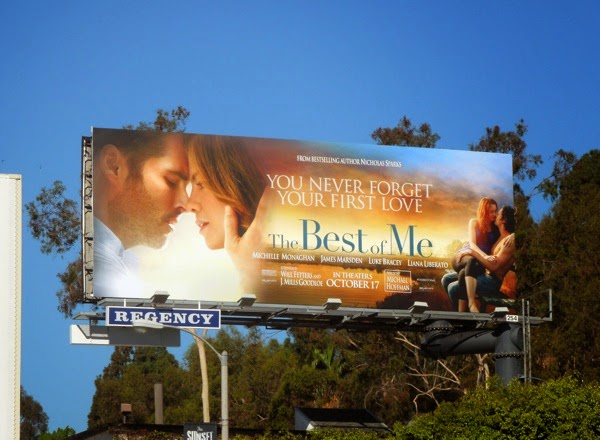 The Best of Me movie billboard