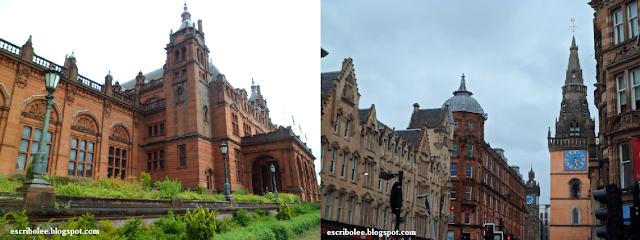 Viaje a escocia: día 7 Museo Kelvingrove y una foto no especialmente fea de la fea Glasgow