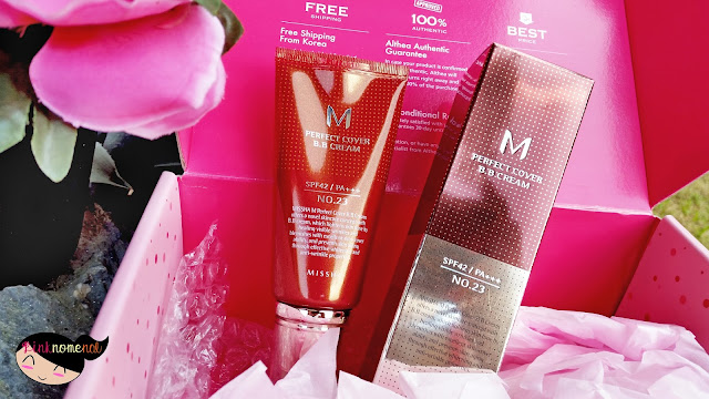 Unboxing Althea PH Missha M Perfect Cover BB Cream pinknomenal.com