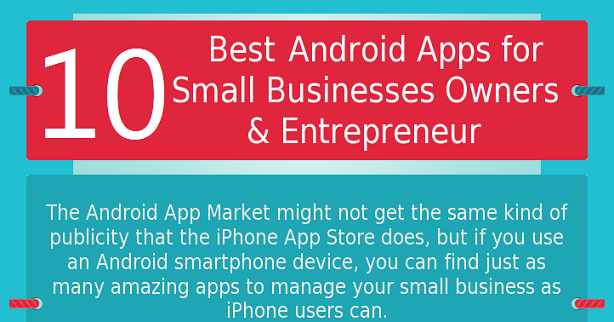 10 Best Android Applications For Entrepreneurs And Small Business Owners