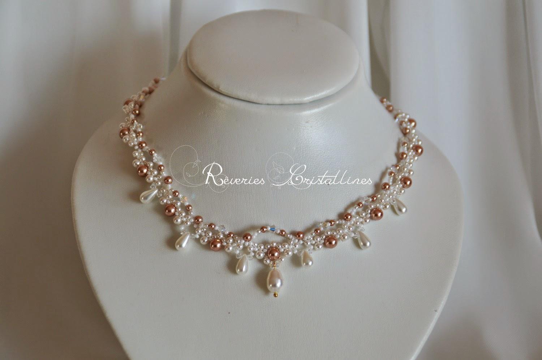 bijoux mariée fantaisie perles