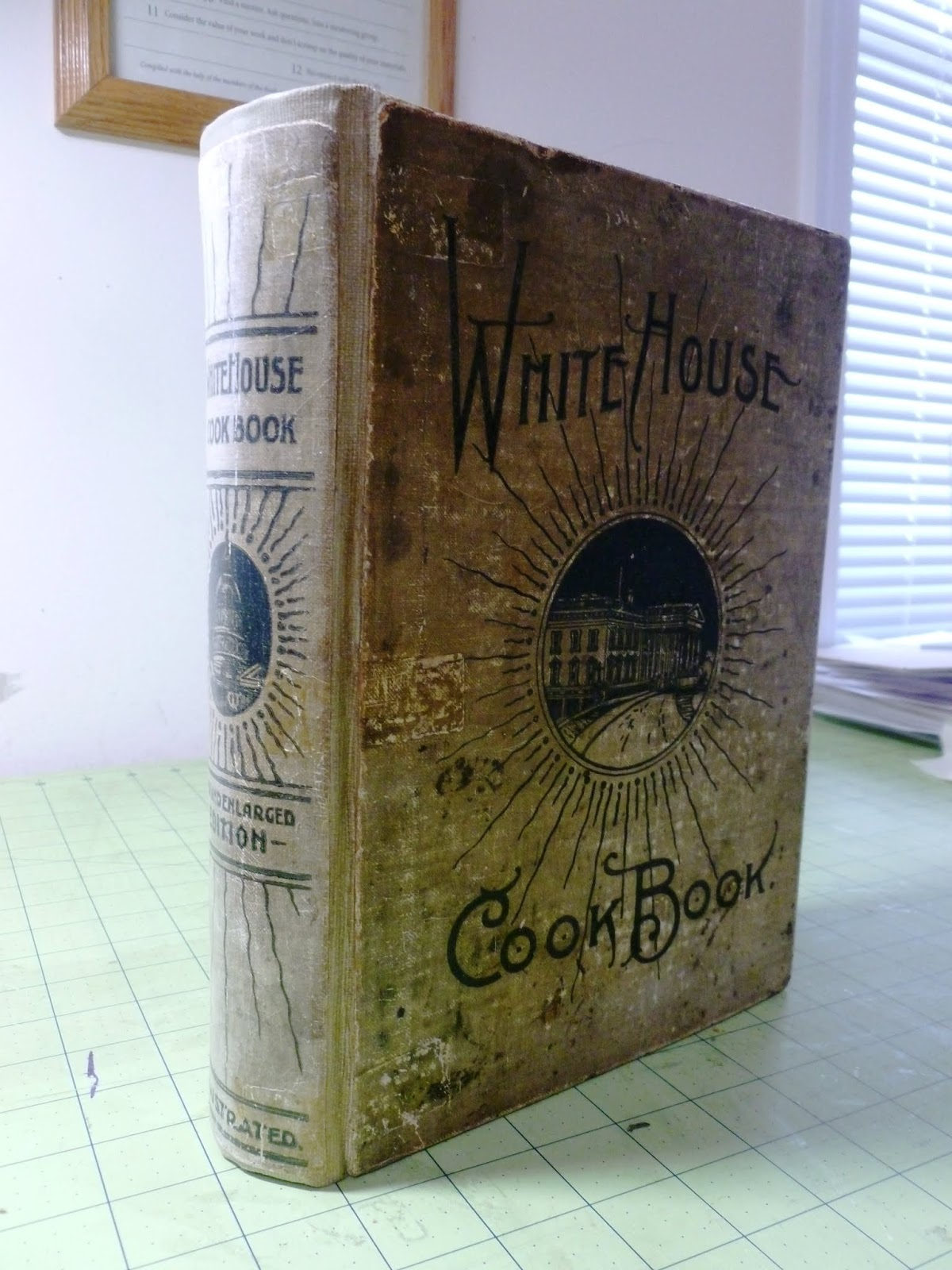 Heritage Book and Bible Repair: White House Cookbook