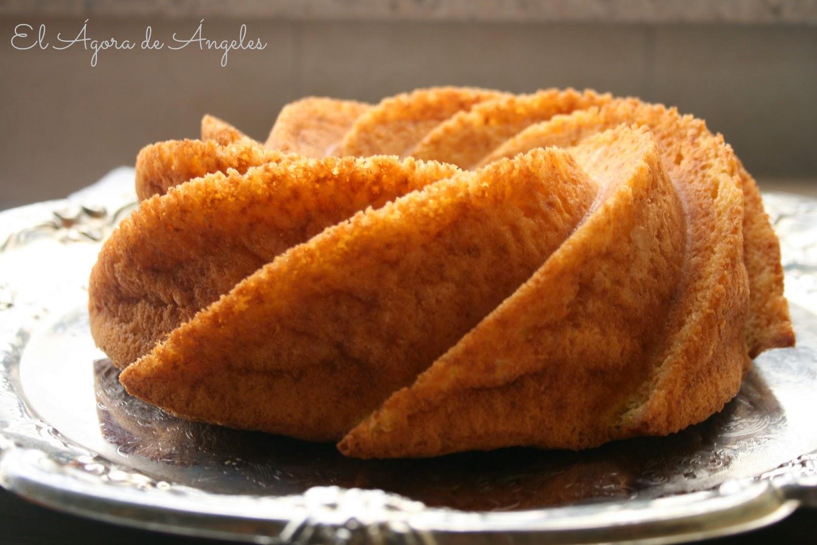 bundt cake de mandarina, bizcocho de mandarina