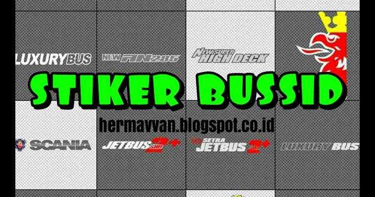 Download Kumpulan Stiker Bussid Bagian 2 Hermavvan Blog