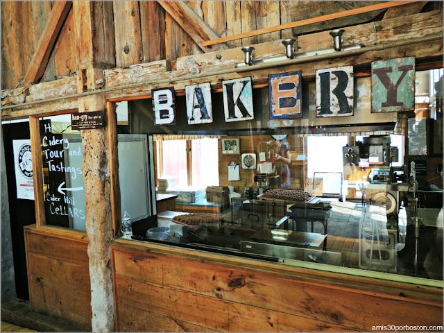 Supermercado de la Cider Hill Farm: Pastelería