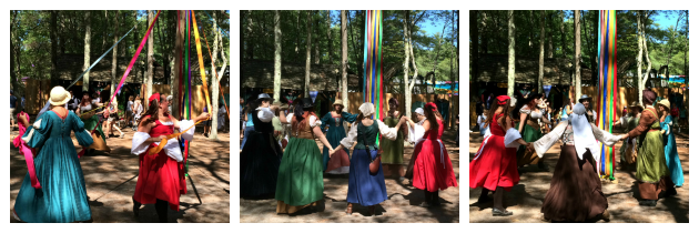 Maypole Dancers at King Richard's Faire Carver MA_New England Fall Events