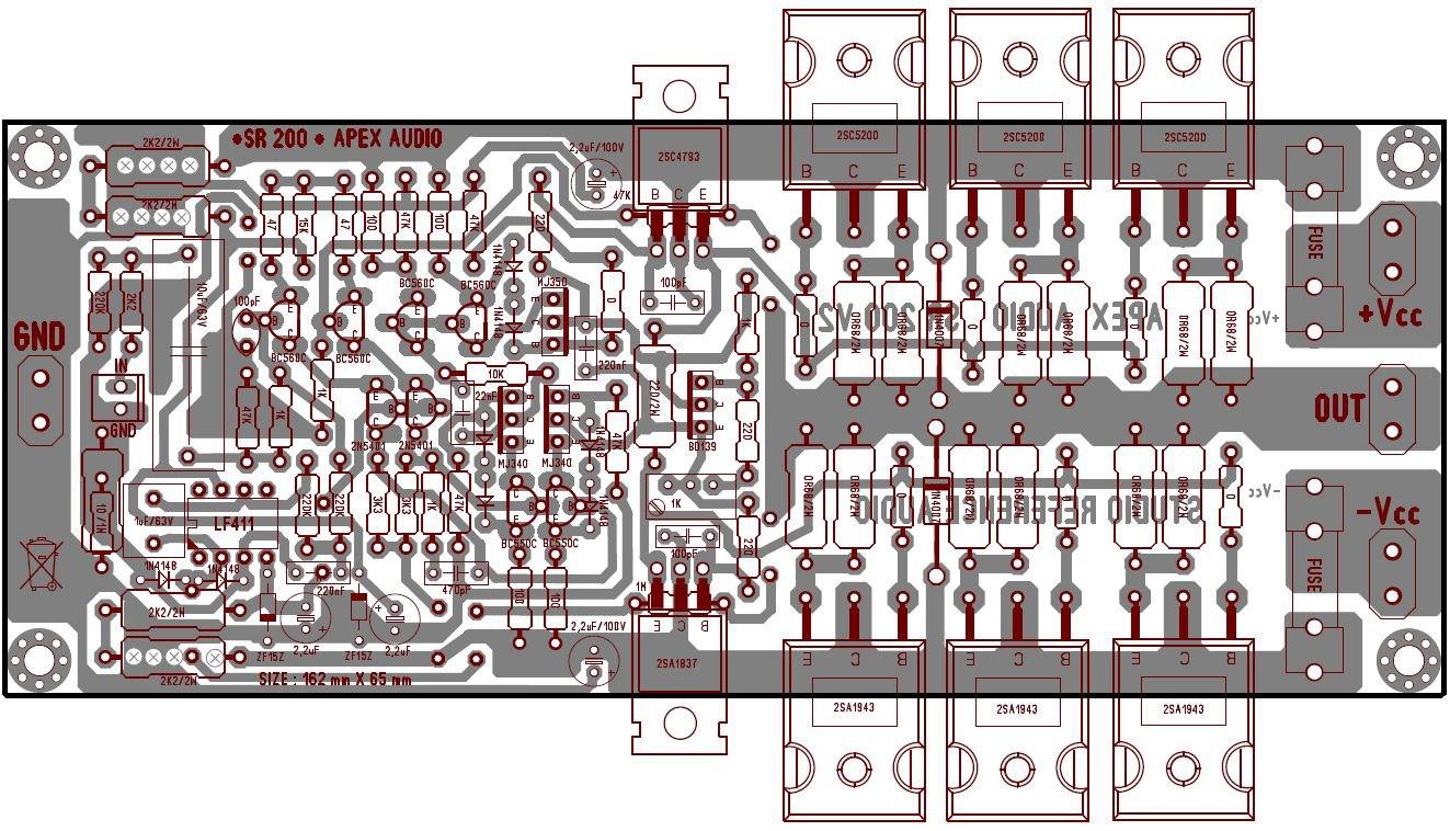 Class B Amplifier Circuit Diagram Automotive Wiring Azracelluler Power Apex Schematic Complementary Symmetry
