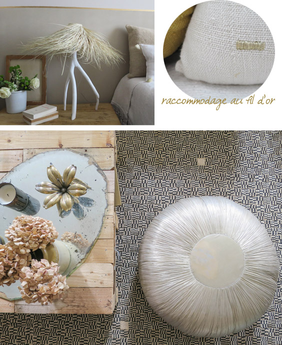 blog deco - detail couleur or