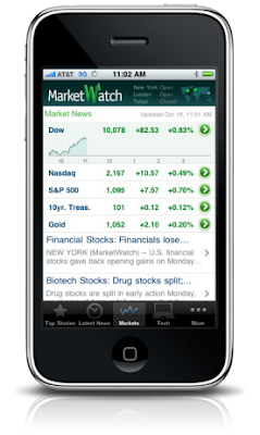 iPhone into a Trading Floor