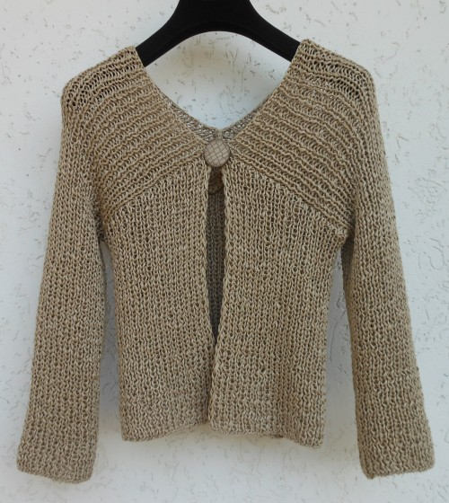 High Line Cardigan - Free Pattern