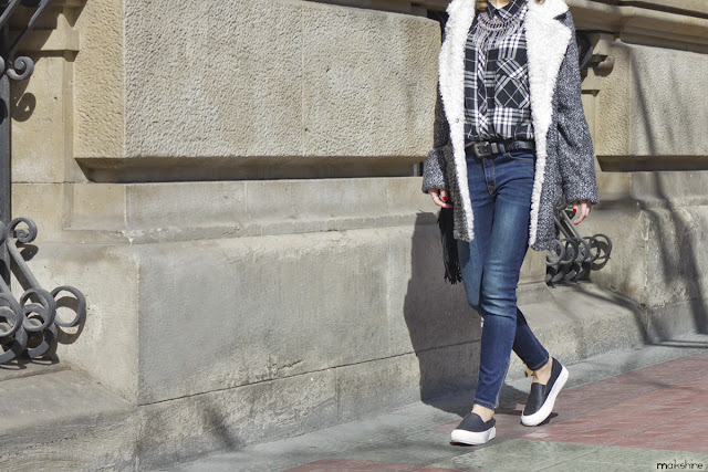 Plaid shirt_layered outfit