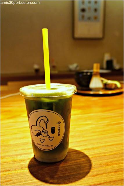 Matcha Latte Ippodo Tea Co. en Nueva York