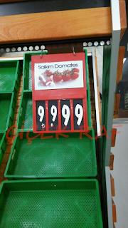 Çiçek Raf-plastik manav etiketlikleri