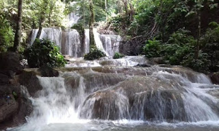 Amazing Keindahan Wisata Matabuntu Waterfall di Luwu Timur Sulawesi Selatan