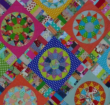 Merry Go Round Bloggers Quilt Festival 2011