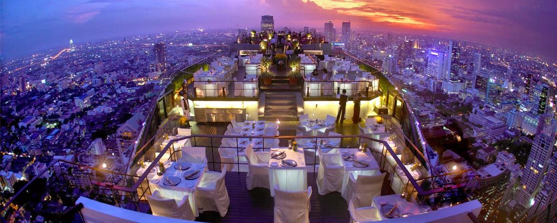 Banyan Tree Bangkok Dining Vertigo And Moon Bar