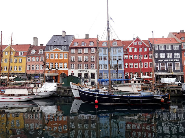Nyhavn Copenhagen in December