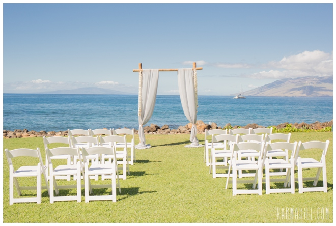 Maui wedding venues on the ocean