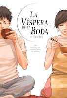 """Portada del cómic """"La víspera de la boda"""", de Hozumi"""