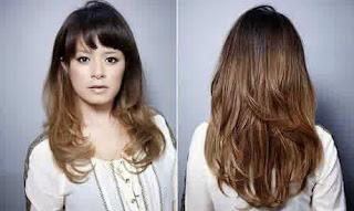 Gaya Rambut Untuk Wajah Kotak: Rambut Layer