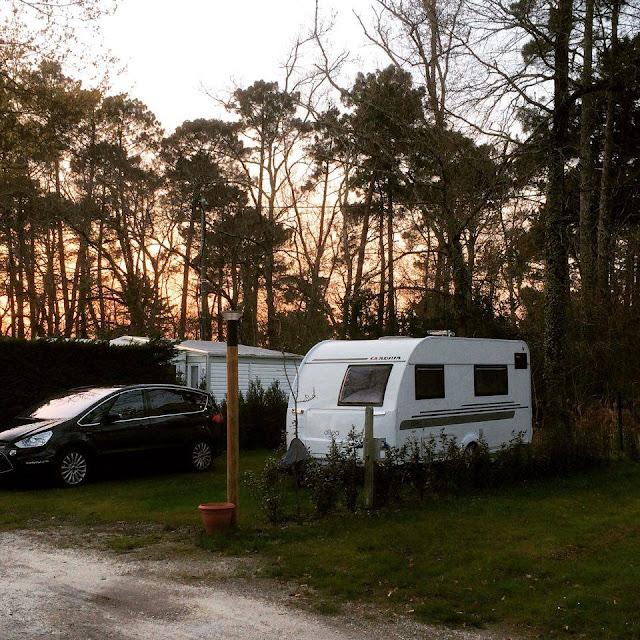 Foto de la caravana Adria Altea en el Camping La Canadienne. Ares | caravaneros.com