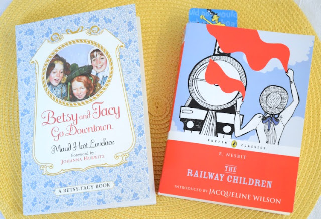 Betsy and Tacy Go Downtown and The Railway Children, part of March Reading Roundup