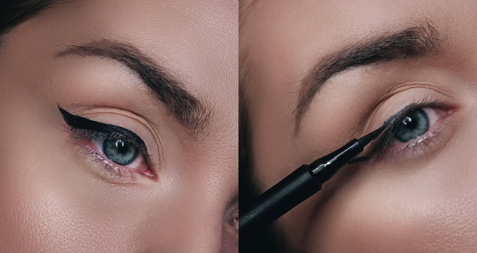 3 SPOSOBY NA KRESKĘ NA GÓRNEJ POWIECE (idealne dla opadającej powieki) + polecane eyelinery