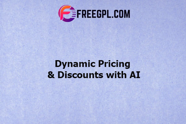 WooCommerce Dynamic Pricing & Discounts with AI Nulled Download Free