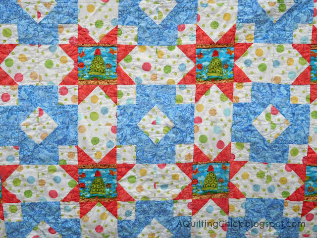 Frog Mystery Quilt - Center