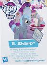 My Little Pony Wave 20 B. Sharp Blind Bag Card