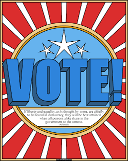 vote coloring page #coloringbook #voting #elections