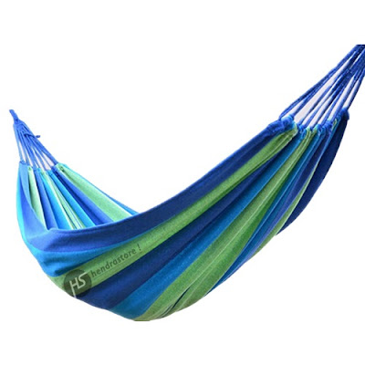 Jual Hammock Camping Single Murah - Motif Salur Nyaman