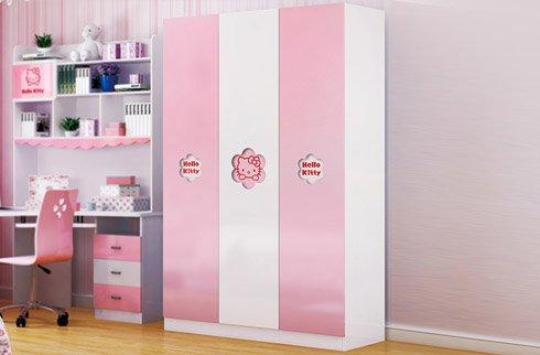 Cách lựa chọn tủ quần áo cho bé gái có thể bạn chưa biết