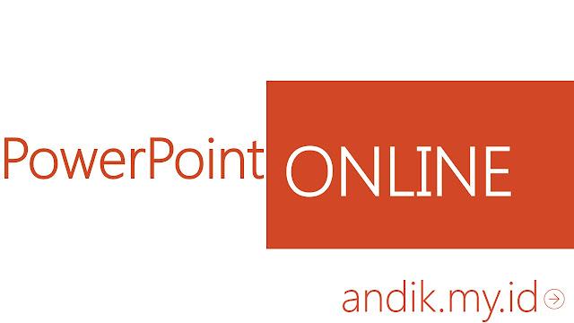 tutorial, powerpoint, microsoft office, powerpoint online, presentasi,