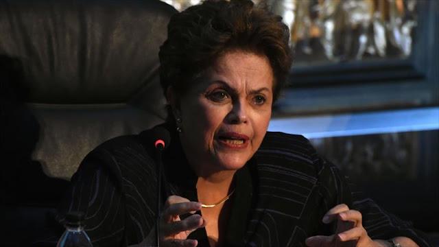 Rousseff: 'Golpe' en Brasil busca quitar pobres del presupuesto