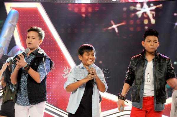 Darren, Juan Karlos and Tonton sing 'One Way Or Another' on The Voice Kids PH