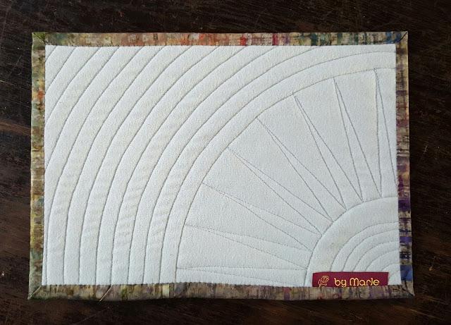 Tassenteppich, Rückseite Molton 100% Baumwolle