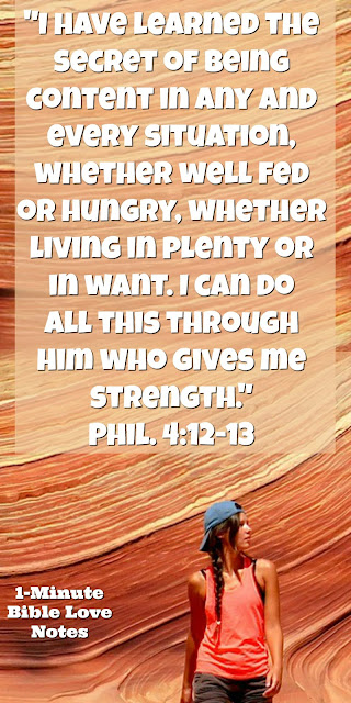 Philipiansp 4:121-3, building character